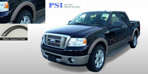 PSI - 2005 Ford F-150 Rugged Style Textured Fender Flares
