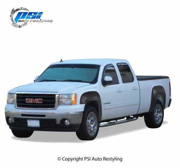 PSI - 2009 GMC Sierra 1500 OEM Style Smooth Fender Flares