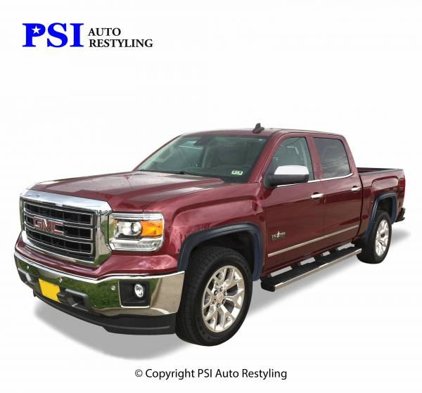 PSI - 2016 GMC Sierra 1500 OEM Style Smooth Fender Flares