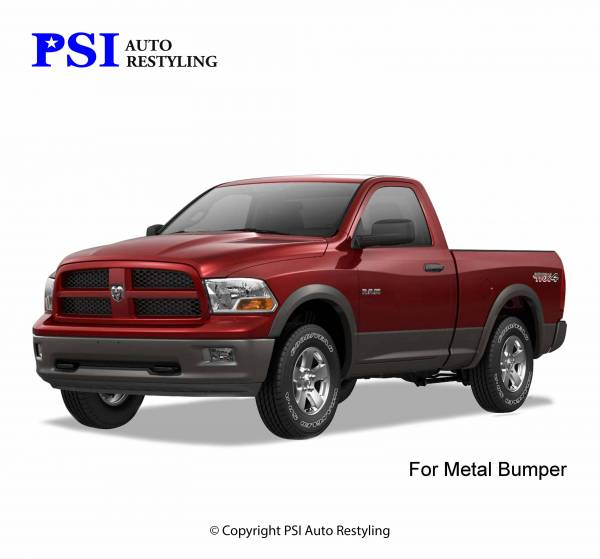 PSI - 2009 Dodge/RAM RAM 1500/1500 OEM Style Smooth Fender Flares