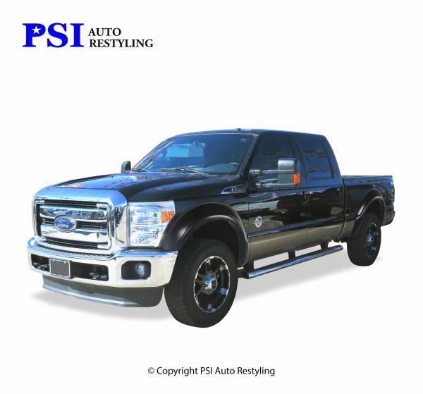 PSI - 2009 Ford F-350 Super Duty OEM Style Smooth Fender Flares
