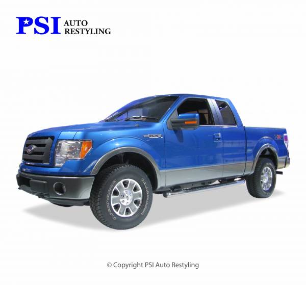 PSI - 2014 Ford F-150 Rugged Style Smooth Fender Flares