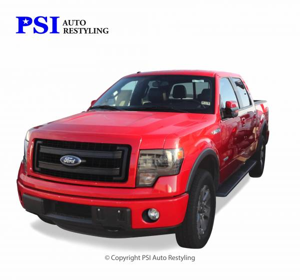 PSI - 2013 Ford F-150 Rugged Style Textured Fender Flares