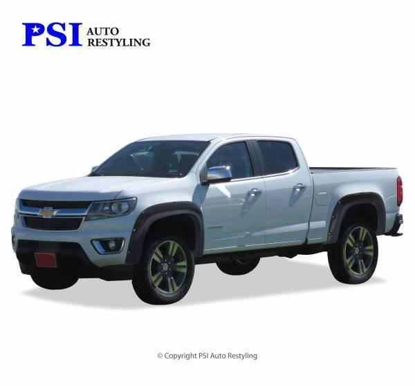 PSI - 2015 Chevrolet Colorado Pocket Rivet Style Textured Fender Flares