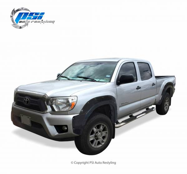 PSI - 2013 Toyota Tacoma Pocket Rivet Style Smooth Fender Flares