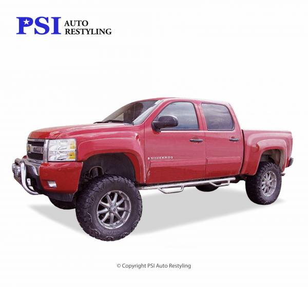 PSI - 2007 Chevrolet Silverado 1500 Extension Style Smooth Fender Flares