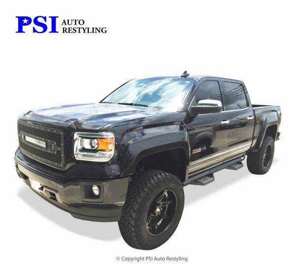 PSI - 2015 GMC Sierra 1500 Extension Style Smooth Fender Flares