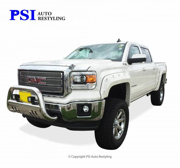 PSI - 2016 GMC Sierra 1500 Pop-Out Style Smooth Fender Flares
