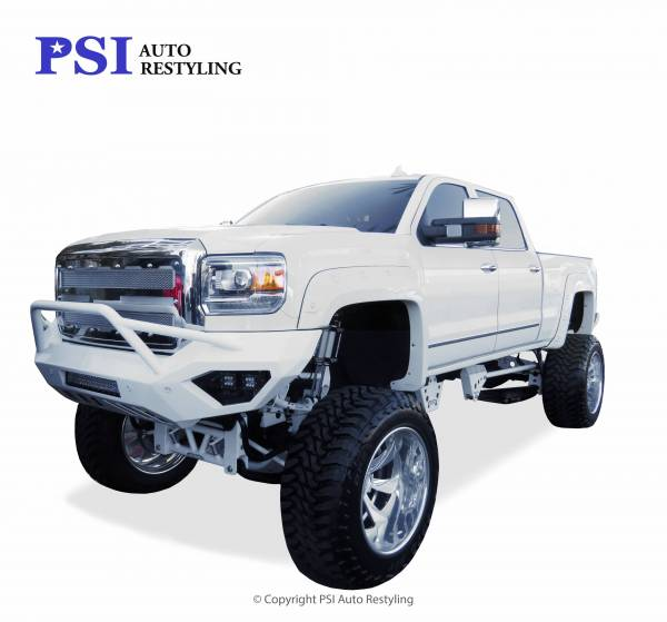 PSI - 2015 GMC Sierra 2500 Pop-Out Style Smooth Fender Flares