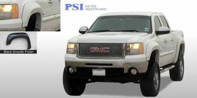 PSI - 2009 GMC Sierra 1500 Extension Style Smooth Fender Flares