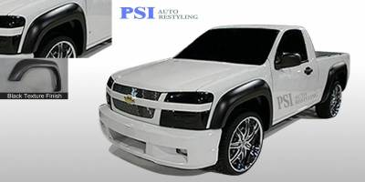 PSI - 2009 Chevrolet Colorado Extension Style Textured Fender Flares