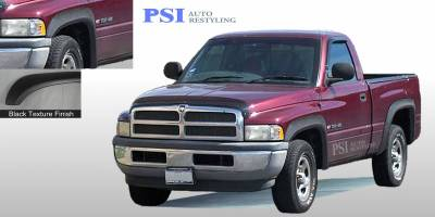 Extension Style - Textured - PSI - 1995 Dodge RAM 3500 Extension Style Textured Fender Flares