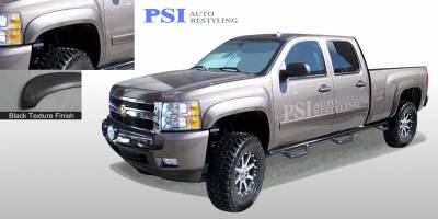 PSI - 2012 Chevrolet Silverado 2500 Extension Style Textured Fender Flares