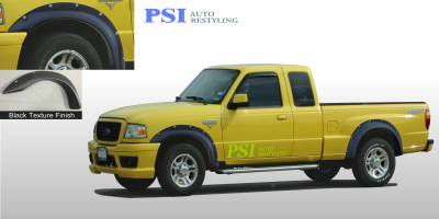 Pocket Rivet Style - Textured - PSI - 1994 Ford Ranger Pocket Rivet Style Textured Fender Flares