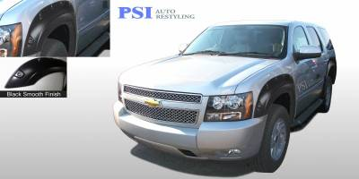Pop-Out Style - Smooth Paintable - PSI - 2008 Chevrolet Tahoe Pop-Out Style Smooth Fender Flares