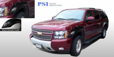 Pop-Out Style - Smooth Paintable - PSI - 2009 Chevrolet Suburban Pop-Out Style Smooth Fender Flares