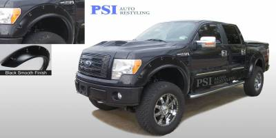 Pop-Out Style - Smooth Paintable - PSI - 2009 Ford F-150 Pop-Out Style Smooth Fender Flares