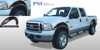 Pop-Out Style - Smooth Paintable - PSI - 2004 Ford F-250 Super Duty Pop-Out Style Smooth Fender Flares