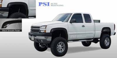 PSI - 2003 Chevrolet Silverado 3500 Rugged Style Smooth Fender Flares