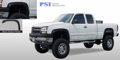 PSI - 2000 Chevrolet Silverado 1500 Rugged Style Textured Fender Flares