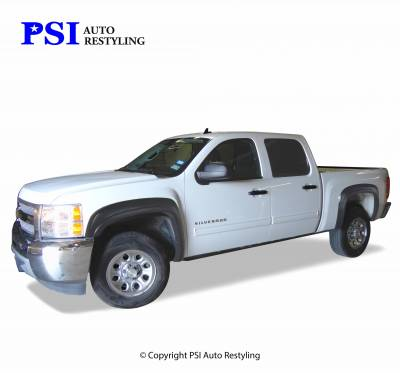 PSI - 2008 Chevrolet Silverado 1500 OEM Style Smooth Fender Flares - Image 4