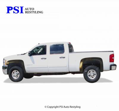 PSI - 2011 Chevrolet Silverado 3500 OEM Style Smooth Fender Flares - Image 4