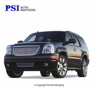 OEM Style - Smooth Paintable - PSI - 2008 GMC Yukon OEM Style Smooth Fender Flares