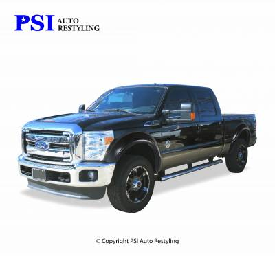 PSI - 2009 Ford F-250 Super Duty OEM Style Smooth Fender Flares - Image 1