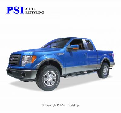 PSI - 2013 Ford F-150 Rugged Style Smooth Fender Flares - Image 1