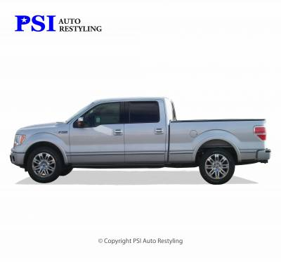 PSI - 2013 Ford F-150 Rugged Style Smooth Fender Flares - Image 4