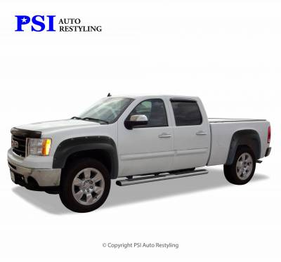 PSI - 2009 GMC Sierra 3500 Pocket Rivet Style Textured Fender Flares - Image 1