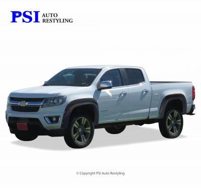 PSI - 2015 Chevrolet Colorado Pocket Rivet Style Textured Fender Flares - Image 1