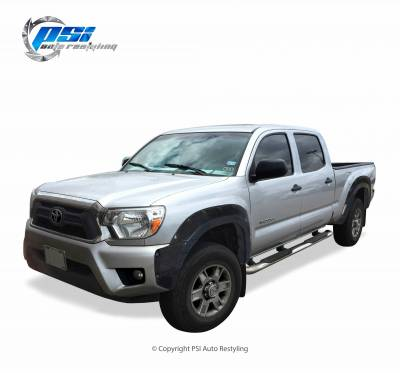 PSI - 2013 Toyota Tacoma Pocket Rivet Style Smooth Fender Flares - Image 1
