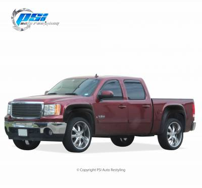 PSI - 2009 GMC Sierra 1500 Extension Style Textured Fender Flares - Image 2