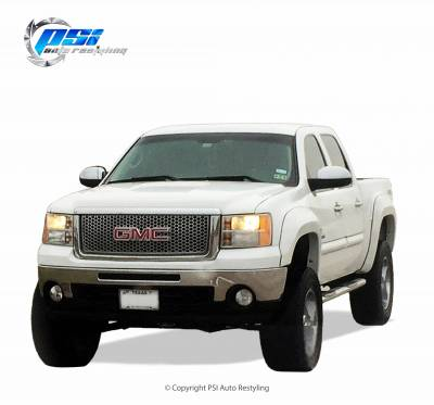 PSI - 2007 GMC Sierra 1500 Extension Style Smooth Fender Flares - Image 2