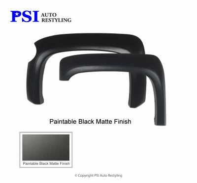 PSI - 2007 Chevrolet Silverado 1500 Extension Style Smooth Fender Flares - Image 3