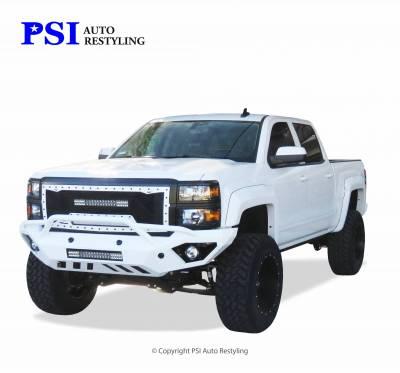 PSI - 2014 Chevrolet Silverado 1500 Extension Style Smooth Fender Flares - Image 1