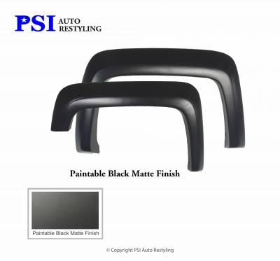 PSI - 2015 GMC Sierra 1500 Extension Style Smooth Fender Flares - Image 3