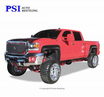 PSI - 2015 GMC Sierra 3500 Extension Style Smooth Fender Flares - Image 1