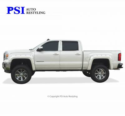 PSI - 2016 GMC Sierra 1500 Pop-Out Style Smooth Fender Flares - Image 4